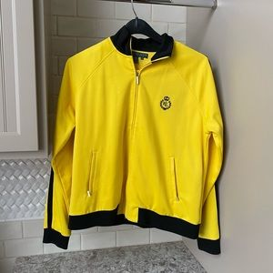 Ralph Lauren Yellow Bomber Set